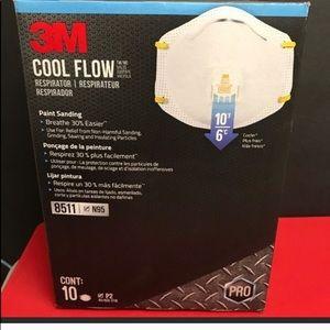 10X 3M 8511 Respirator N95 Masks